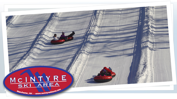 McIntyre Ski Area - Snow Tubing - Manchester, NH