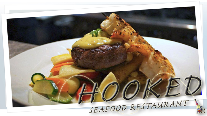 25 For 40 To Spend At Hooked Seafood Restaurant
